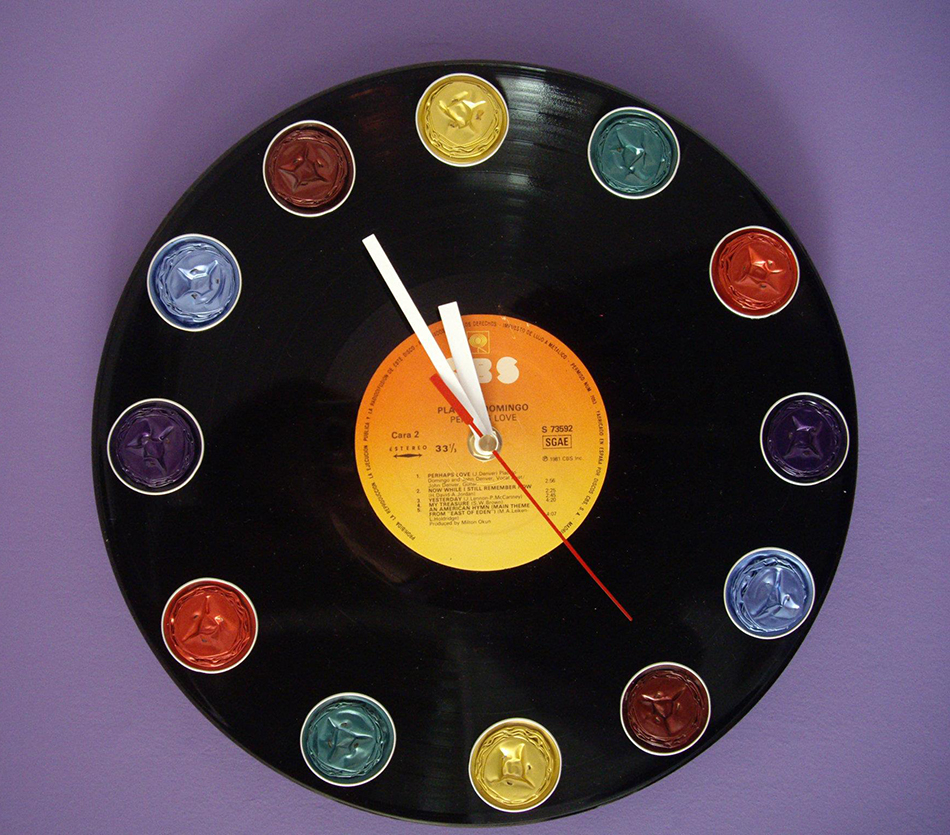 Reloj vinilo pared ideas de disenos - Reloj de pared vinilo ...