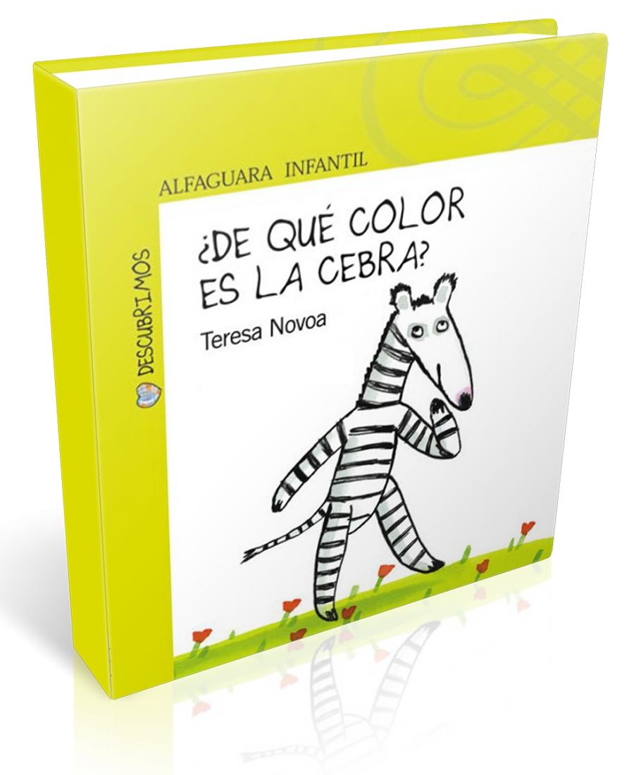 De qué color es la cebra?\